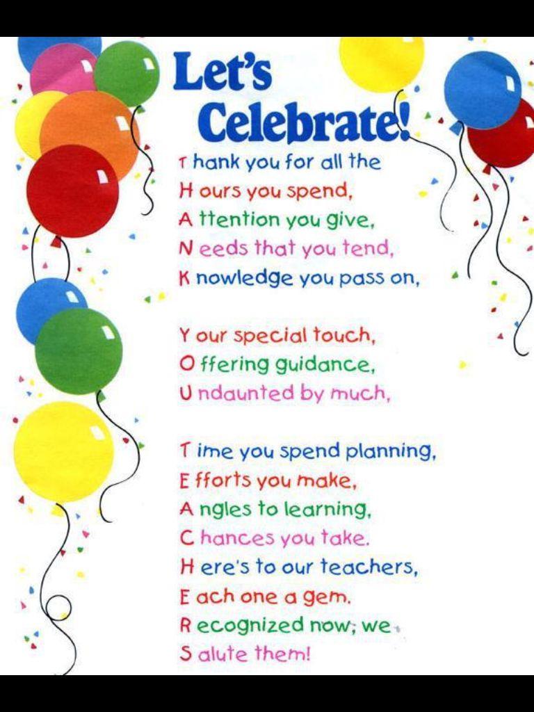 teachers  teacher appreciation luncheon teacher