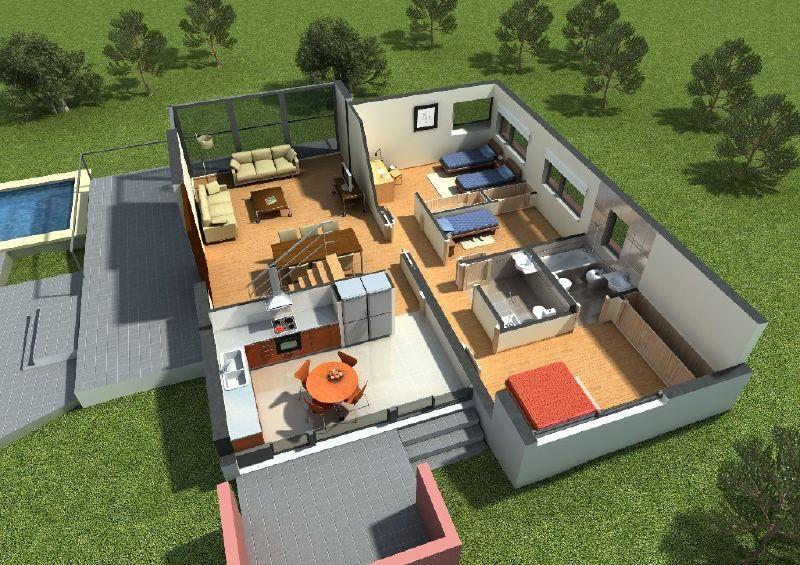 Programa para convertir plano casa a 3d bmw faq club for Planos de chalets