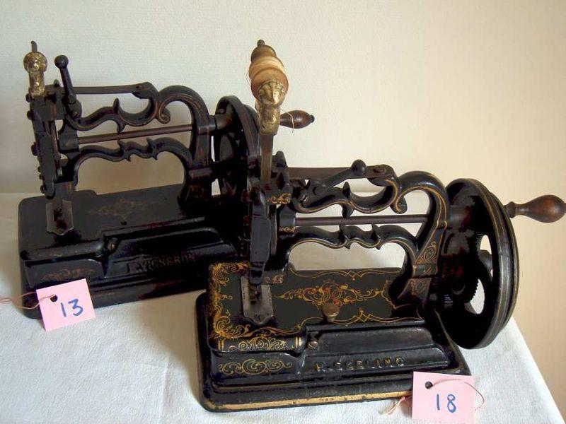 machines raymond vendues en france par vigneron et seeling aux environs de 1865 vintage. Black Bedroom Furniture Sets. Home Design Ideas
