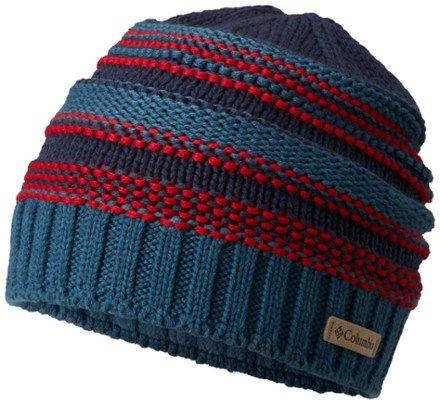 Columbia Boy s Gyroslope Beanie Blue Heron Boys Winter Hats 228837375a3