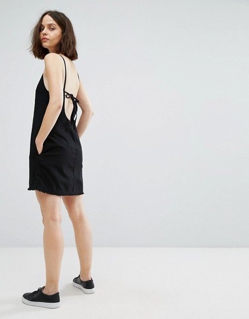 Cheap Sale Cheap Big Sale Cheap Price Weekday Cami Dress with Back Strap Detail To Buy Best For Sale Fake Cheap Online pJMP4HoPS
