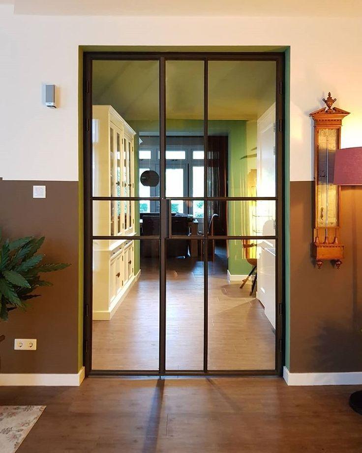 Steal through. #productdesign #steeldesign #steeldoor #doordes …