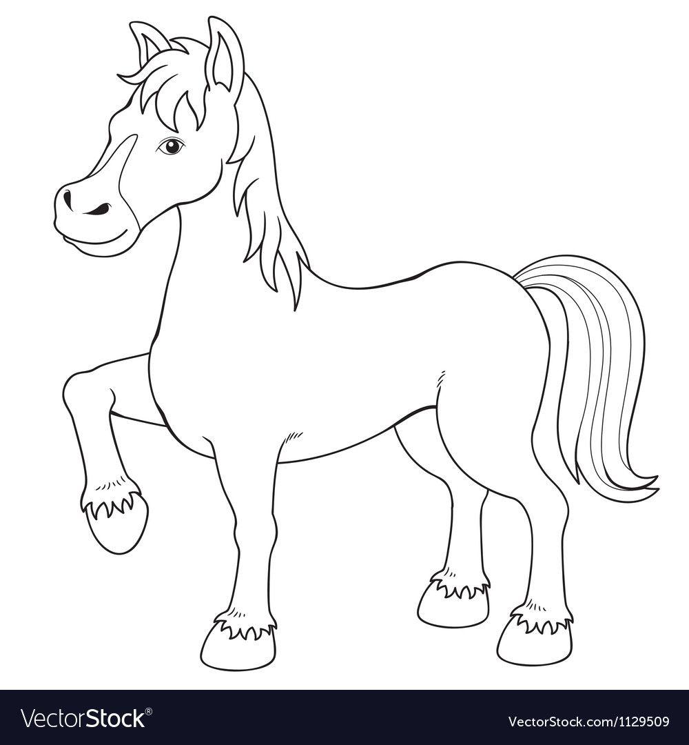 Horse Vector Image On Com Imagens Desenhos Para Criancas
