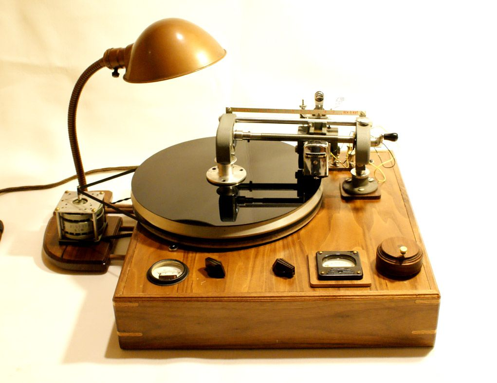 The Record Lathe Synth Art Folktek Turntable Vinyl Record Player Vinyl Player