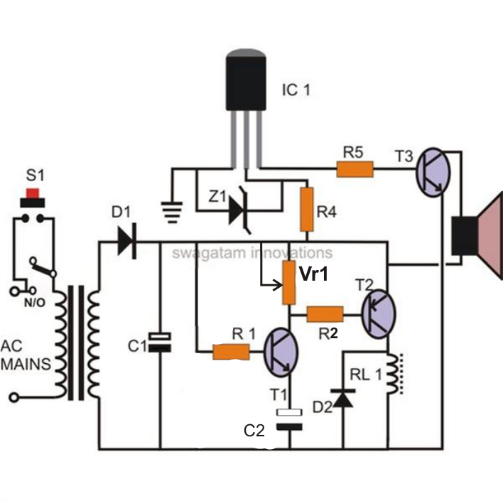 inverter circuit with built in charger electronic circuit projects