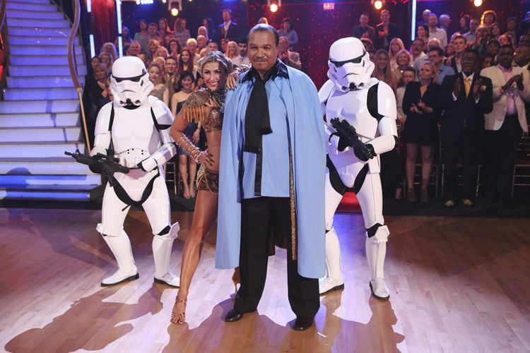 Billy Dee Williams @ Dancing With the Stars