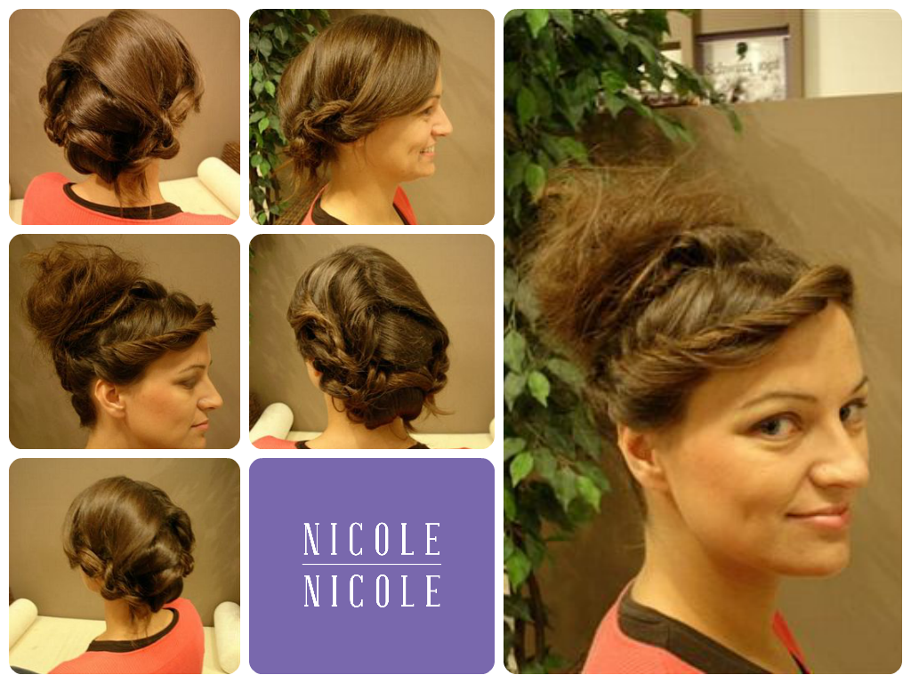 Pin by nicole nicole frizerski salon hairdresser on svećane frizure