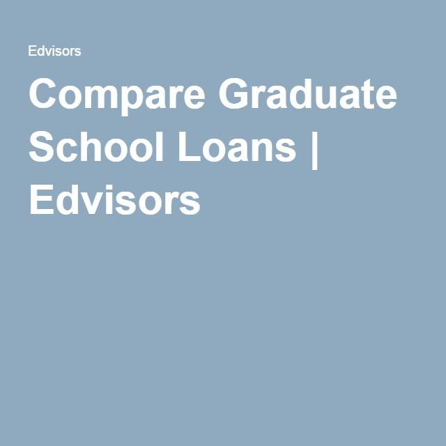 Compare Graduate School Loans Edvisors College Financial Aid
