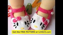 crochet baby boots pattern - YouTube