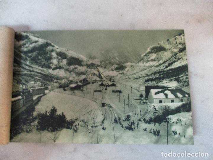 Postales: Block - Álbum Postal - 18 Postales - El Canfranc Nevado - ED. F. de las Heras - Clase Especial - Foto 7 - 75061451