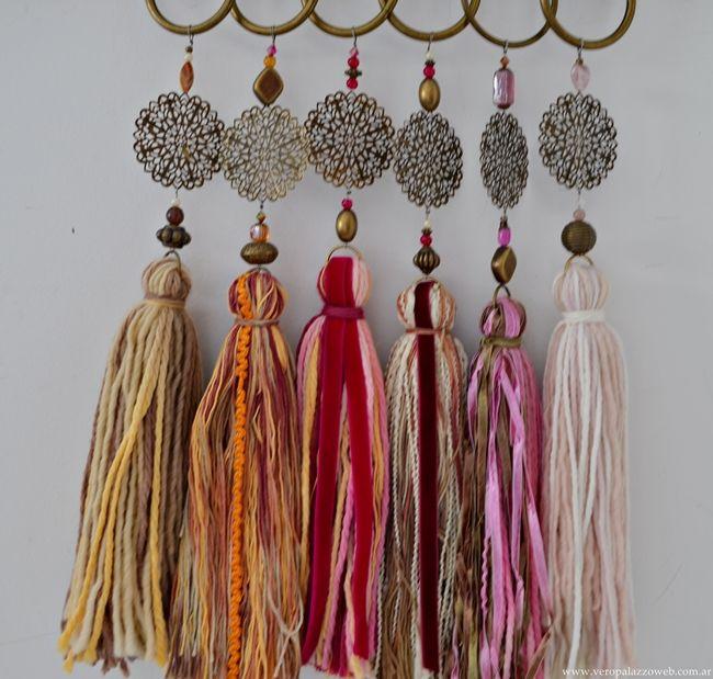Borlas buscar con google lanas pinterest tassels for Borlas para muebles