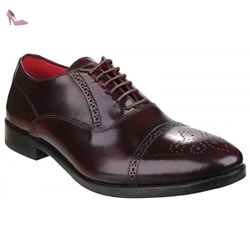 Base London , Richelieu homme - Rouge - rouge, 40 - Chaussures base london (