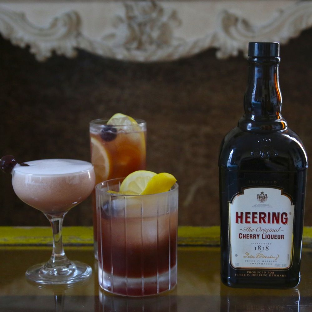 3 cocktails we love with cherry heering simple syrup for Cherry bitters cocktail recipe