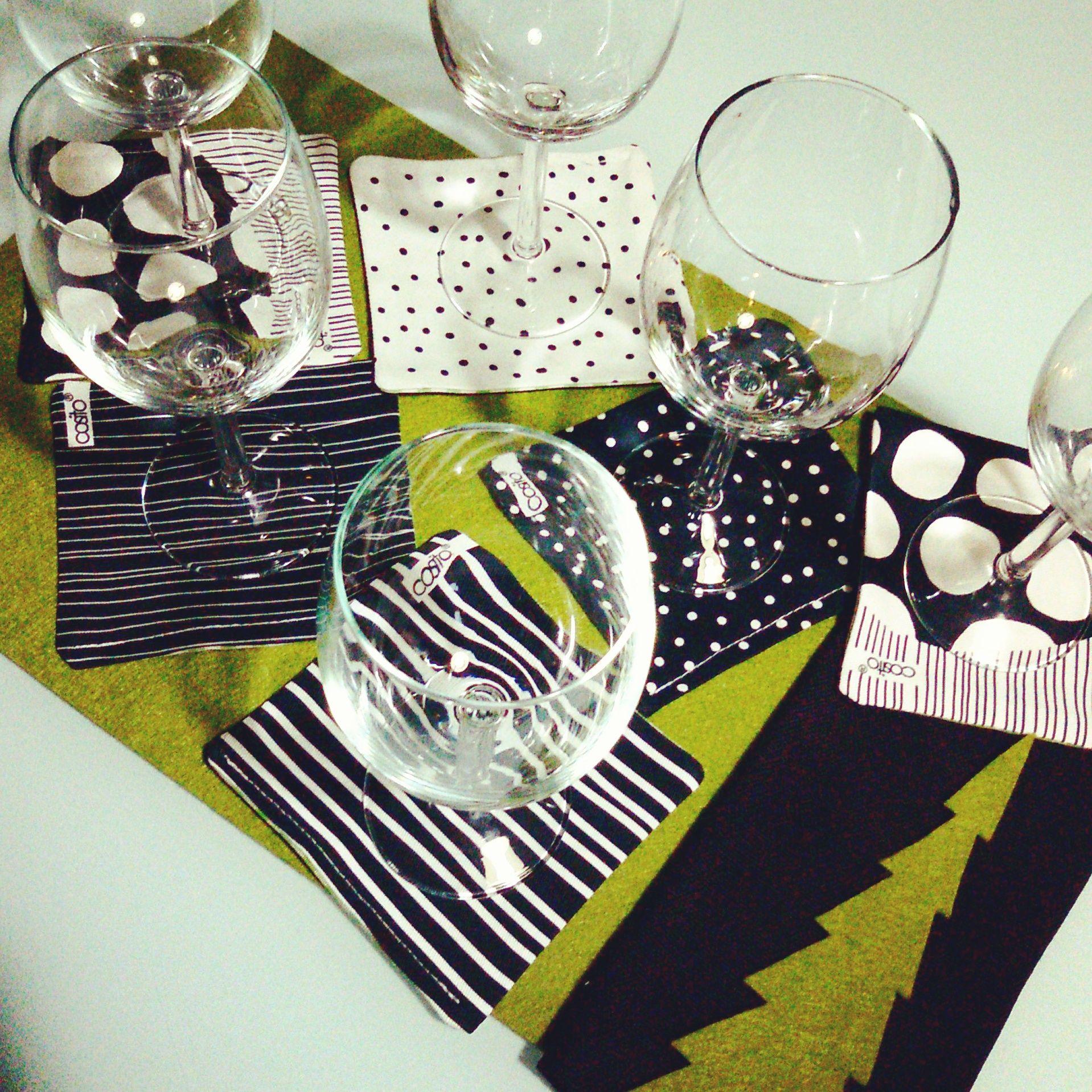 Sottobicchieri!...per un tavolo originale!...cottone 100%lavabili...tanti modelli da scegliere...in vendita now!!