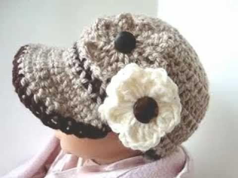 CROCHET PATTERN, ASHTON NEWSBOY CAP, how to crochet a hat | crochet ...