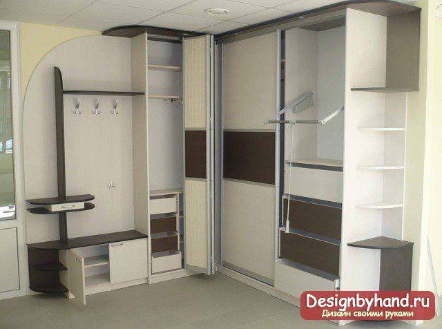 угловая прихожая дизайн фото и идеи прихожая Wardrobe Room