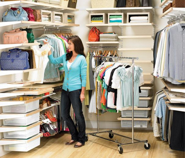 Place Your Personal Items Back Into Your Closet Transformed With Elfa! Sale  At The Container Store Through October.