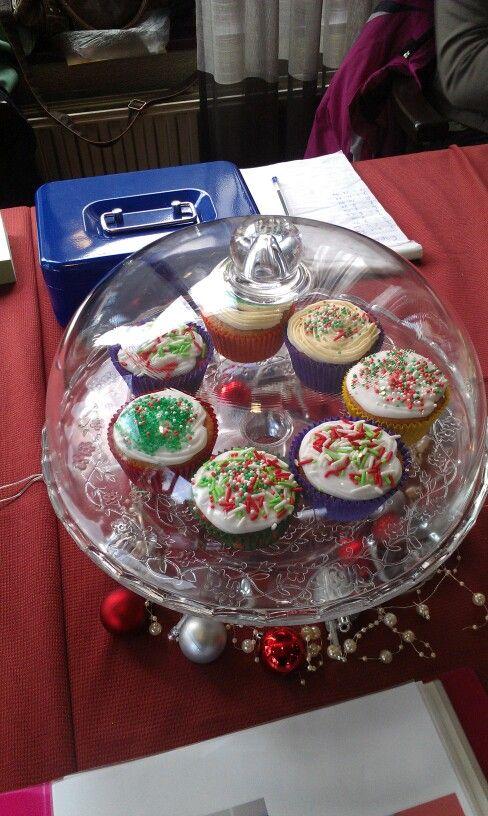 #kerst #cupcakes