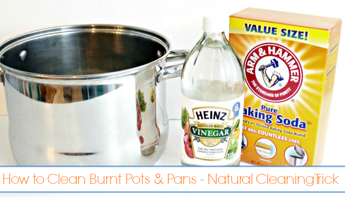 How To Clean Burned Pots And Pans In Minutes Clean
