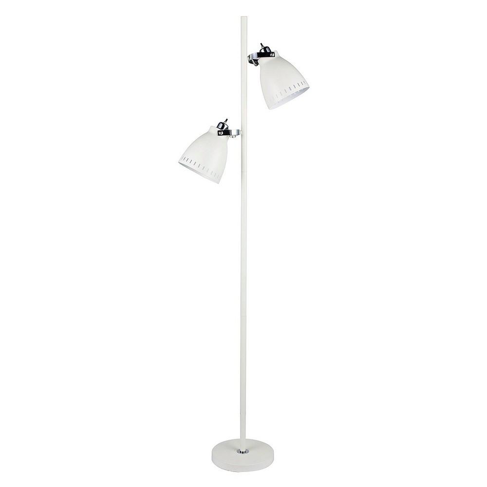 Metal Tree Floor Lamp White 68 5