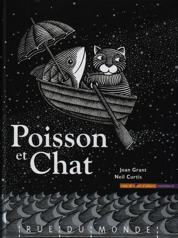 Poisson Et Chat Joan Grant Chat Litterature Jeunesse Poisson Chat