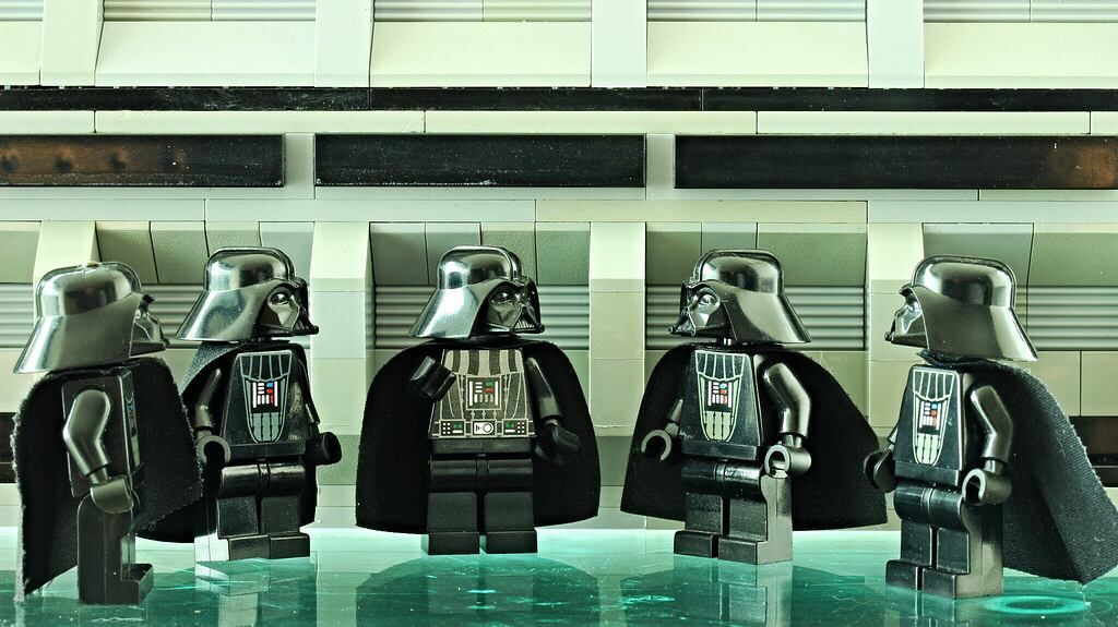 "Vader school: ""Ok let's try it again this time with more authority. 'I find your lack of faith disturbing.' Now you try."" _______________________ #darthvader #Vader #darth #legodarthvader  #starwars #LegoStarWars  ______________________ by brickpolice50"