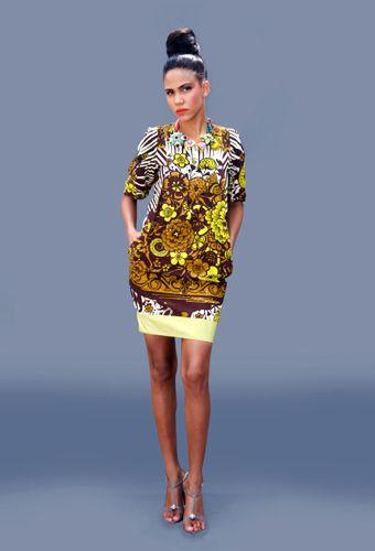 Lanre Da Silva-Ajayi A Gallery of Poems Collection #African #Fashion #Style #Ankara #kente