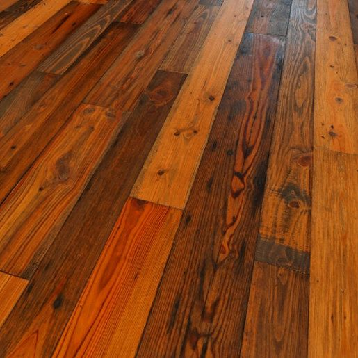 Heart pine reclaimed old dirty goat 1 2 x 6 5 8 x 1 8 for Pine wood flooring