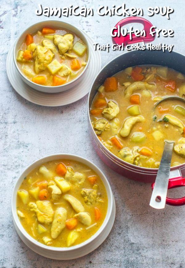 jamaican chicken soup  recipe  healthy soup recipes
