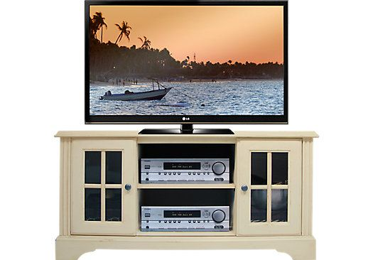 Mountain Bluff White 48 in. Console . $299.99. 48W x 17D x 24H. Find affordable TV Consoles for your home that will complement the rest of your furniture.