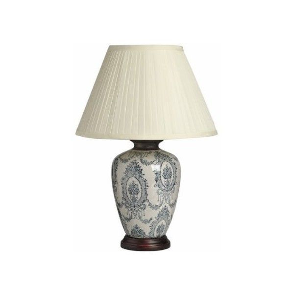 Large Patterned Ceramic And Wooden Table Lamp 1264 Vintage Style Perfect For All Living Rooms Bedrooms Supe Table Lamp Wooden Table Lamps Ceramic Table Lamps