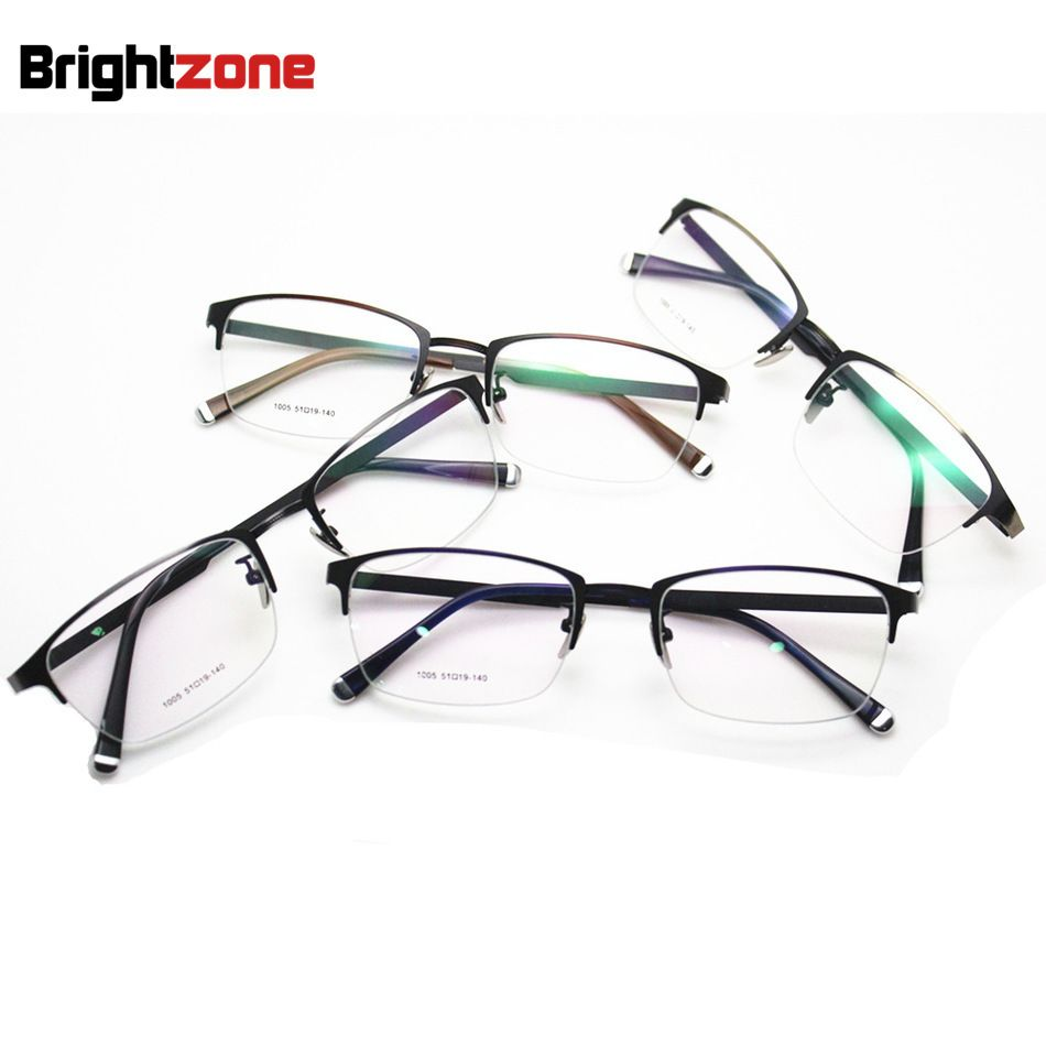 db2cef83901 Fashion New Pattern Restore Ways Glasses Frame Men Women Fund Exceed Light  Will Frame Glasses Metal Half Frame Spectacle Frame