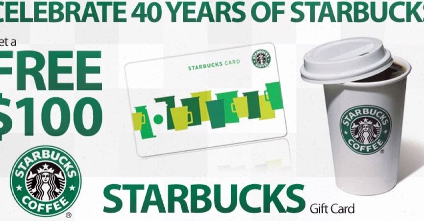 Free starbucks gift card codesfree starbucks card