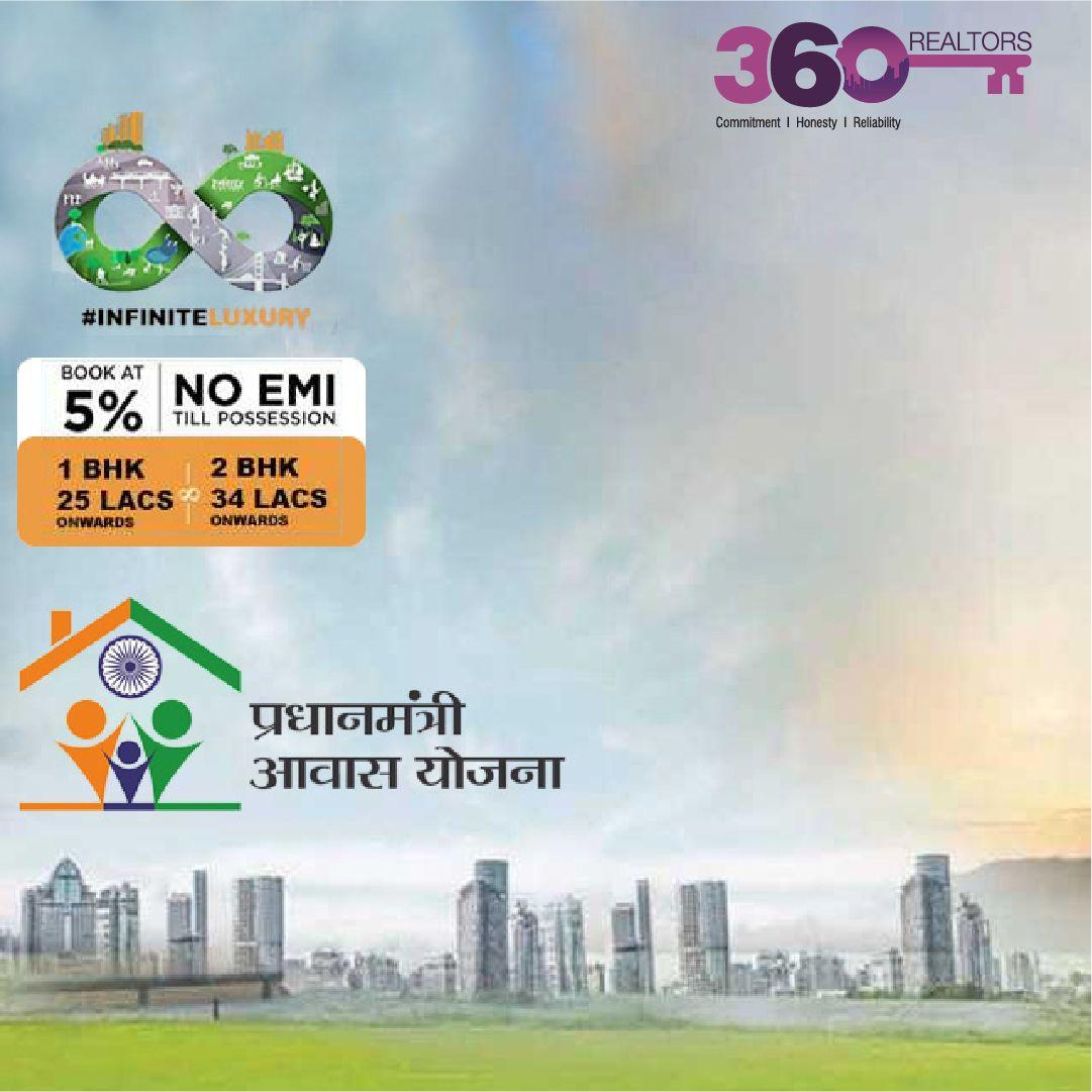 1,2 BHK Area 392547 sqft. Location Naigaon, Mumbai