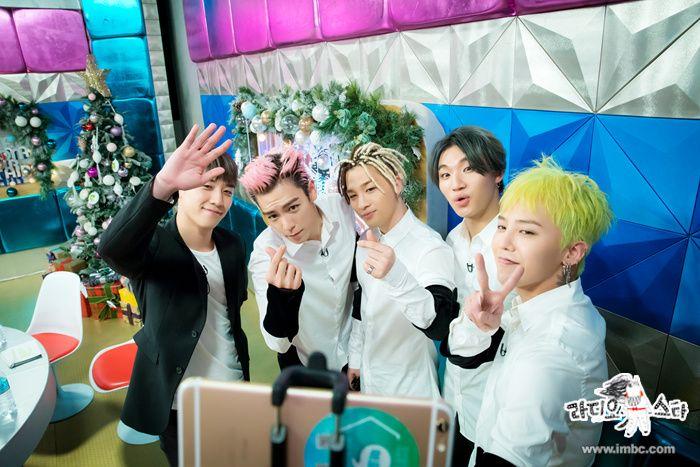 BIGBANG on MBC Radio Star