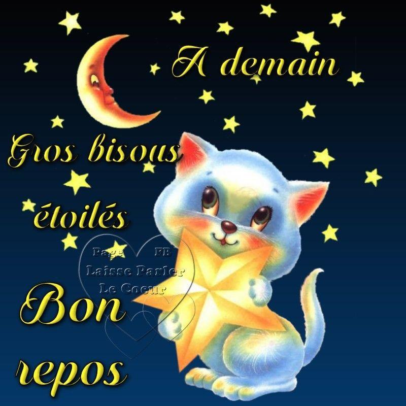 A Demain Image 7259 A Demain Gros Bisous Etoiles Bon Repos Partager Cette Photo Sur Facebook Twitter Et Image Bonne Nuit Message Bonne Nuit Bonne Nuit