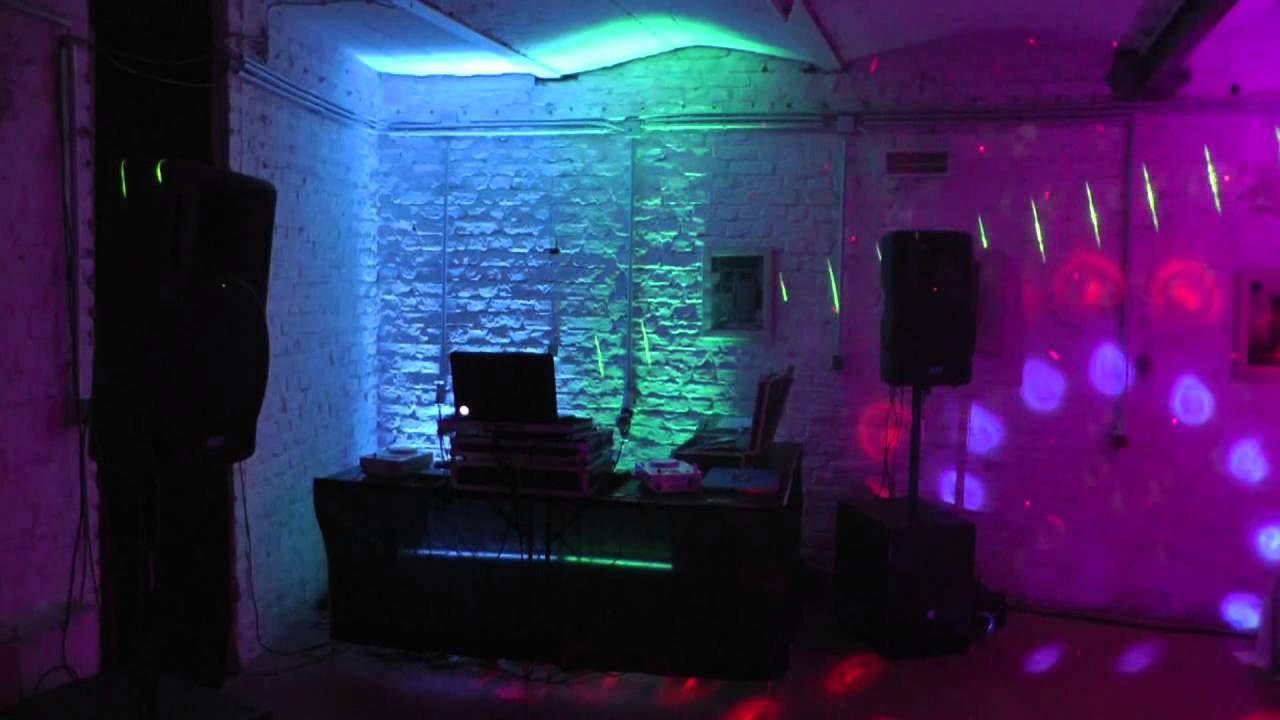 Partyraum Uplighting Ambiente Beleuchtung Illumination Hochzeitsgeschenk Hochzeitsgeschenk Geschenke Aktien