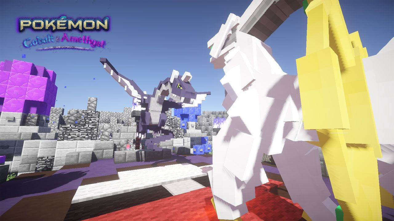Someone's made a whole new Pokemon game inside Minecraft – without any third-party mods