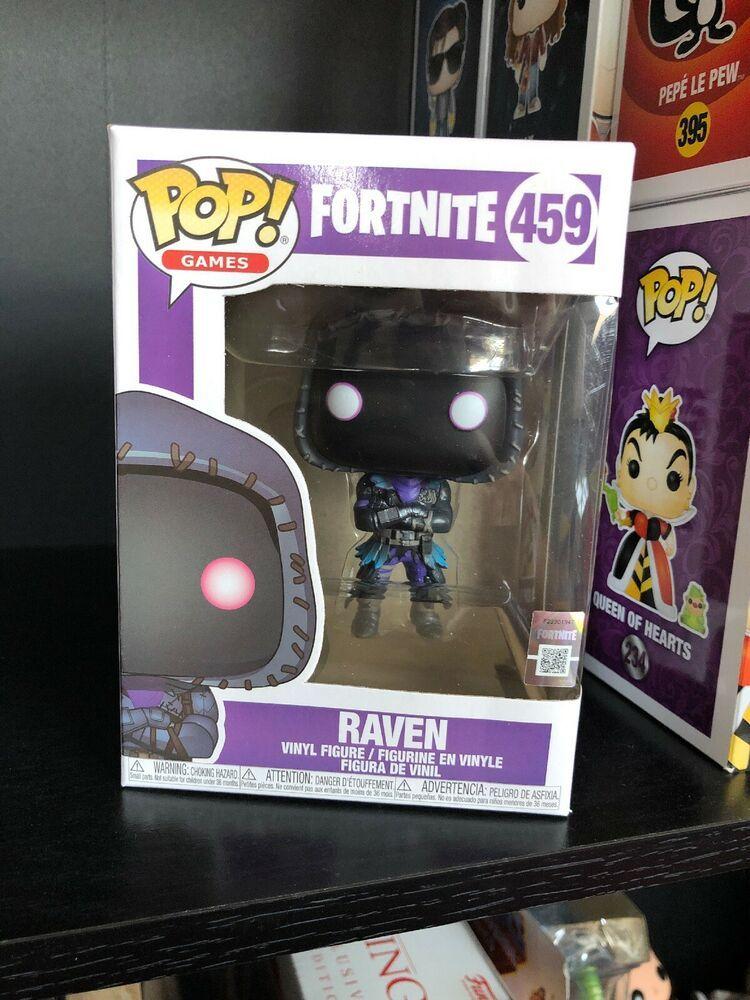Fortnite-Raven FUNKO POP Vinilo Figura #459!