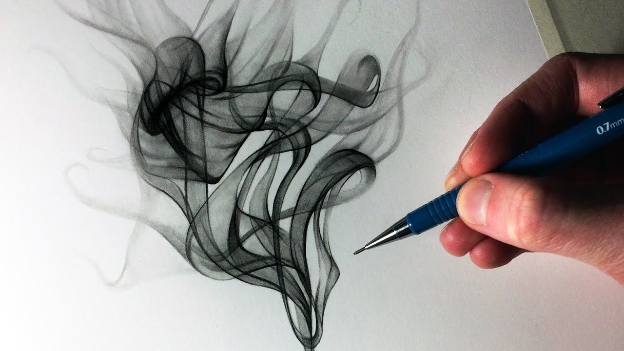 How to draw smoke youtube