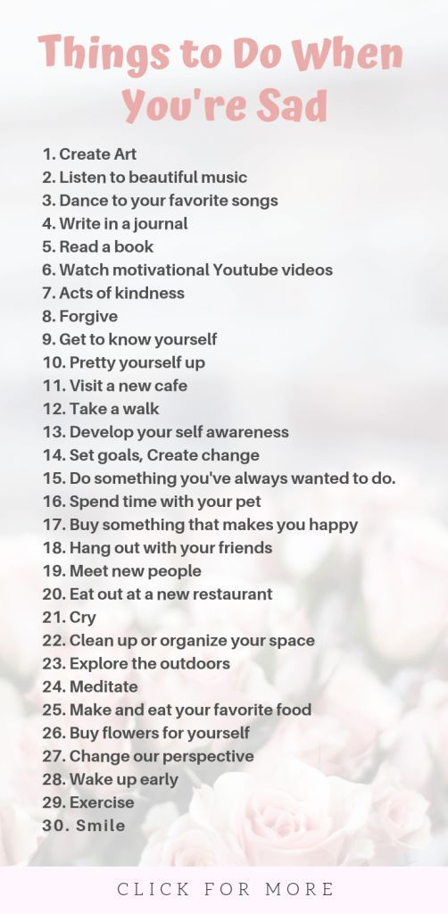 Sad Stress Quotes 34 Things to Do When You're Sad – Self Care Tips