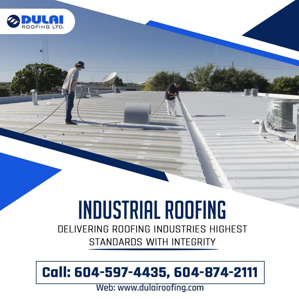 Get Waterproof Durable And Up To Date Roofing Solutions In Canada Also Get Installations Of Your Preferred Mater Industrial Roofing Roofing Roofing Systems