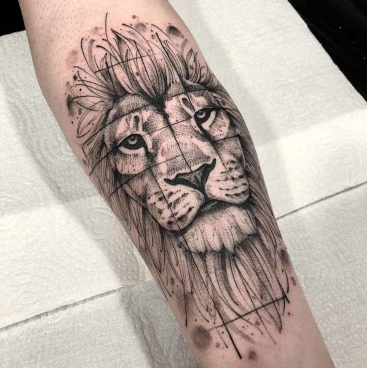 90 Tiger and Lion Tattoos That Define Perfection - Page 7 of 9 90 Tiger and Lion Tattoos That Define Perfection - Page 7 of 9 -  -
