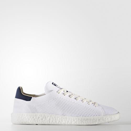 adidas stan smith primeknit all white