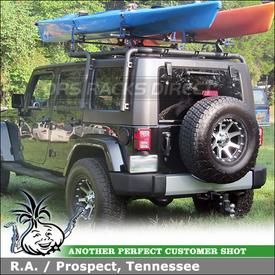 Best Jeep Wrangler Unlimited Kayak Rack Kayak Rack Jeep