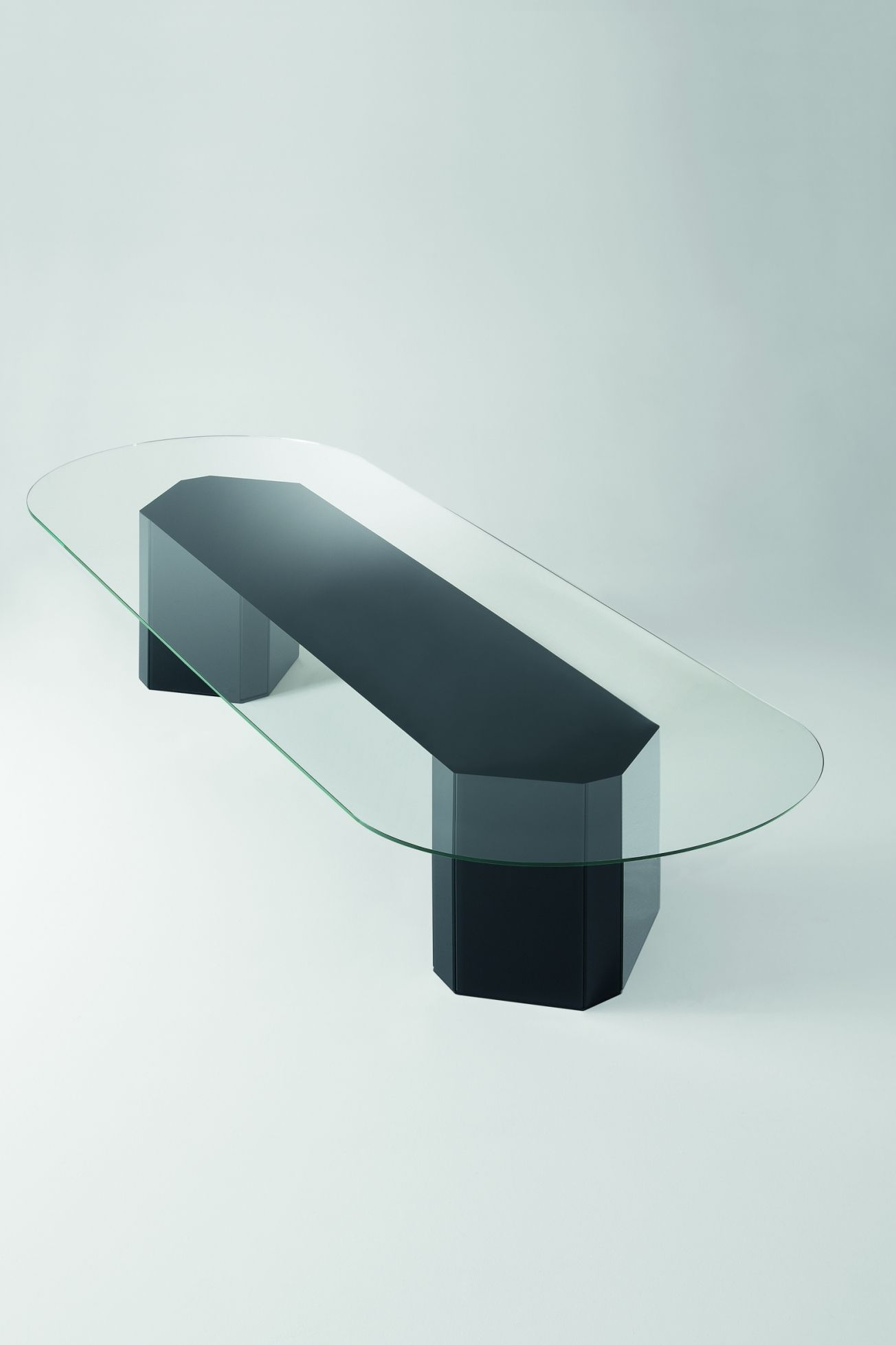 Contemporary Dining Table By Gallotti Radice With A Gl Top Available From Iq Furniture