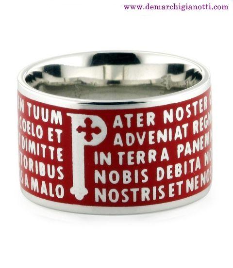 TUUM in argento con smalto  modello R-16 tuum  www.demarchigianotti.com