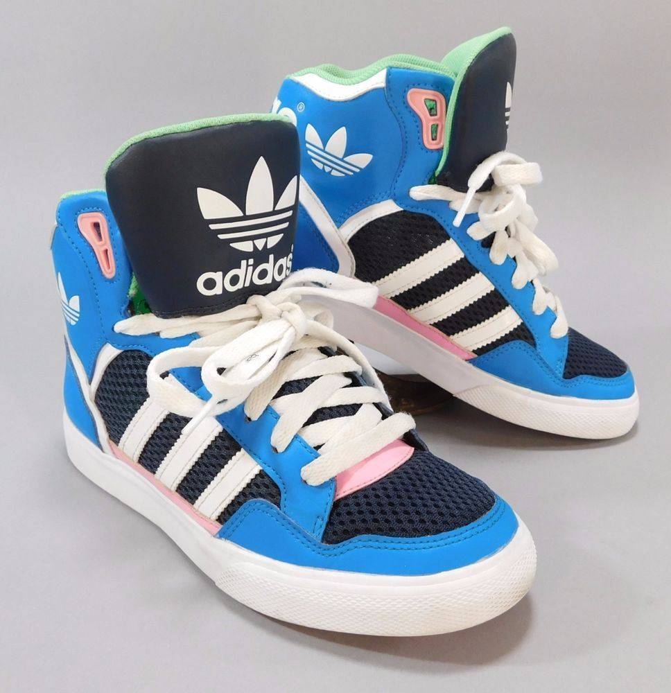 adidas Originals EXTABALL W D65392 Damen Sneaker Pink Blue