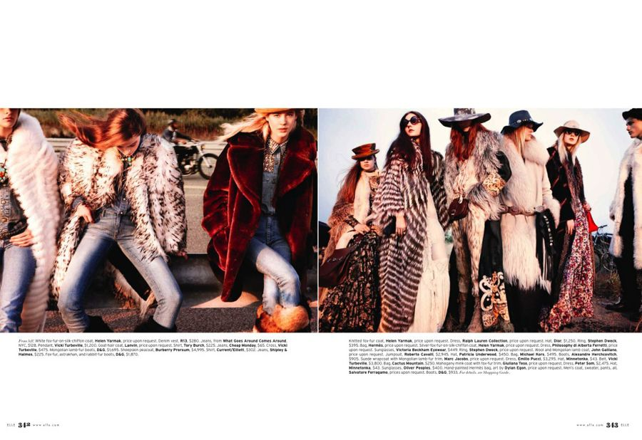 easy riders // elle november 2010 // so in love with this spread!