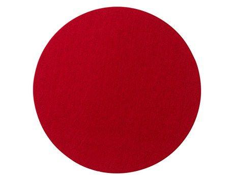 Södahl Multi felt Spisebrikke Ø 35 cm rød